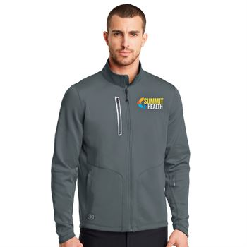OGIO® Endurance Men's Cadet Collar Full-Zip Jacket - Embroidery Personalization Available