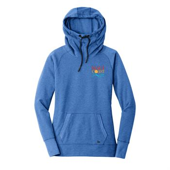 New Era® Women's Tri-Blend Fleece Pullover Hoodie - Embroidery Personalization Available