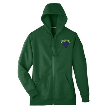 Team 365 Men's Zone Hydrosport™ Heavyweight Full-Zip Hoodie - Personalization Available