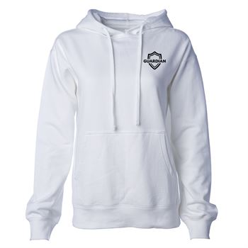 Independent Trading Co® Women's Midweight Hoodie - Embroidered Personalization Available