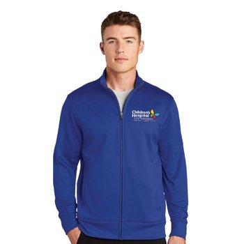 Sport-Tek® Men's All Season Wicking Fleece Full-Zip Jacket - Embroidery Personalization Available