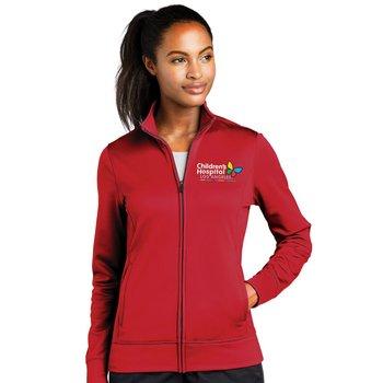 Sport-Tek® Women's All Season Lightweight Wicking Fleece Full-Zip Jacket - Embroidery Personalization Available