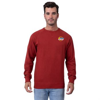 Positive Wear Unisex French Terry Crew Neck Sweatshirt - Embroidery Personalization Available