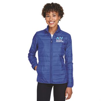 Core 365 Ladies 2-In-1 Prevail Packable Puffer Jacket