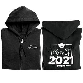 Class of 2021 Gildan® Heavy Blend Full-Zip Hooded Sweatshirt - Personalization Available