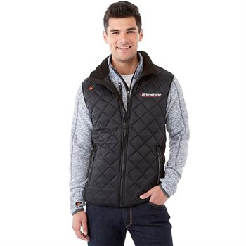 2-In-1 Men's Vest With Heat Panel Functionality - Embroidery Personalization Available