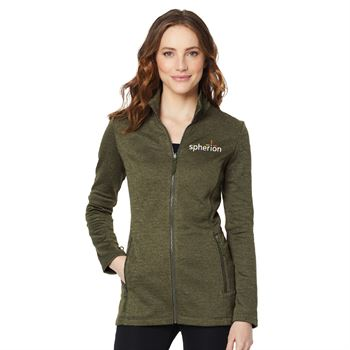 Port Authority® Women's Collective Striated Fleece Jacket - Embroidered Personalization Available