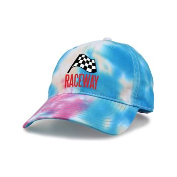 Venice Tie-Dyed Twill Cap - Embroidery Personalization Available