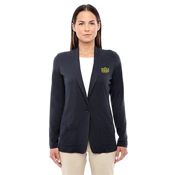 Fashion + Function Collection Women's Shawl Collar Drape Cardigan Embroidery Personalization Available
