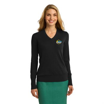 Fashion + Function Collection Women's V-Neck Sweater