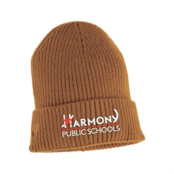 Ultrasoft Premium Cuffed Knit Beanie - Embroidered Personalization Available