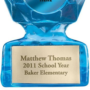 Premium Sculpted Sapphire Trophy (Personalized)