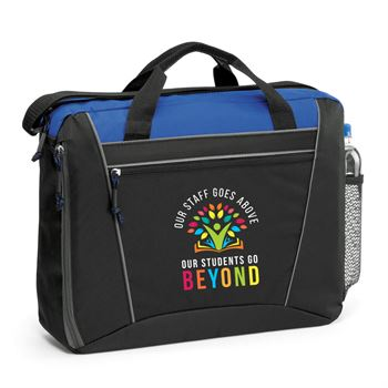 Our Staff Goes Above, Our Students Go Beyond Westbury Briefcase Bag