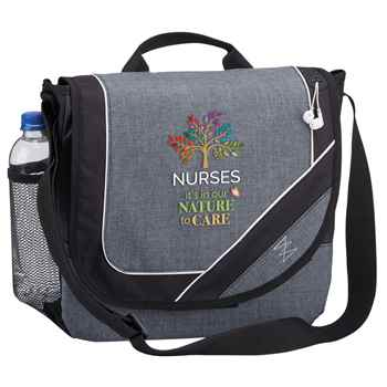 Nurses: It's In Our Nature To Care Portland Messenger/Briefcase Bag