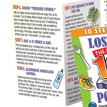10 Steps To Losing The The First 10 Pounds Pocket Pal