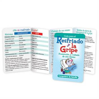 Cold And Flu Prevention & Self-Care Pocket Pal (Spanish) - Personalization Available
