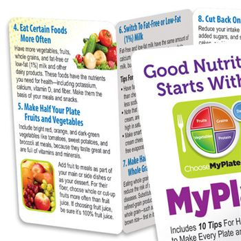 Good Nutrition Starts With MyPlate Pocket Pal