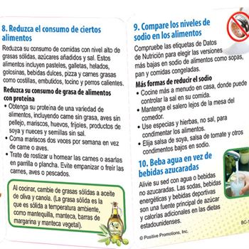 Good Nutrition Starts With MyPlate Pocket Pal-Spanish Version