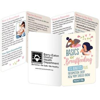 Basics Of Breastfeeding Pocket Pal - Personalization Available