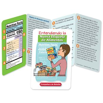 Entendiendo Las Etiquetas de Alimentos Pocket Pal - Personalization Available