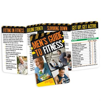 Men's Guide To Fitness Pocket Pal - Personalization Available
