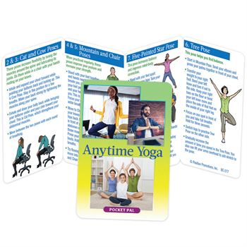 Anytime Yoga Pocket Pal - Personalization Available