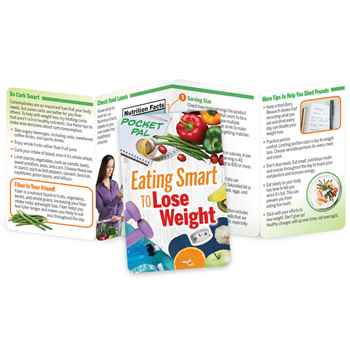 Eating Smart To Lose Weight Pocket Pal - Personalization Available