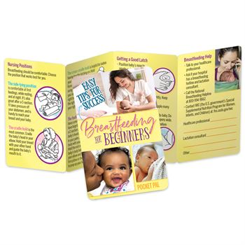 Breastfeeding For Beginners Easy Tips For Success Pocket Pal - Personalization Available