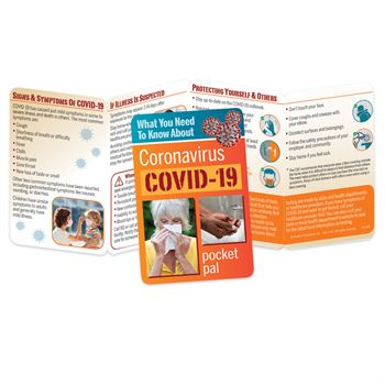 UPDATED! What You Need To Know About Coronavirus (COVID-19) Pocket Pal - Personalization Available