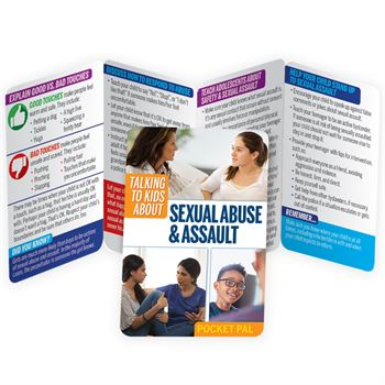 Talking To Kids About Sexual Assault Pocket Pal - Personalization Available