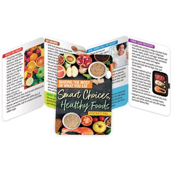 Making The Most Of What You Eat: Smart Choices, Healthy Foods Pocket Pal - Personalization Available