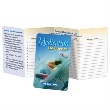 Medication Recorder Pocket Pal - Personalization Available