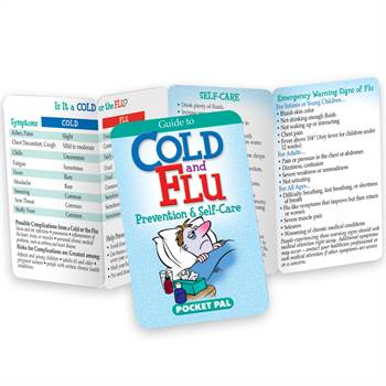 Cold and Flu Prevention & Self-Care Pocket Pal - Personalization Available
