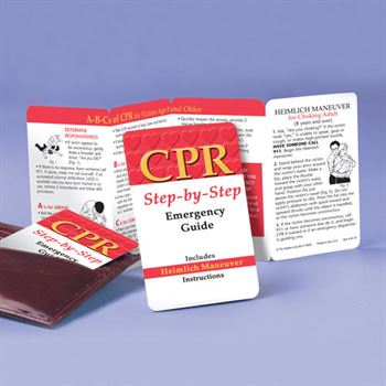 CPR: Step-By-Step Emergency Guide Pocket Pal