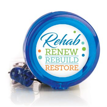 Rehab: Renew, Rebuild, Restore Retractable Badge Holder