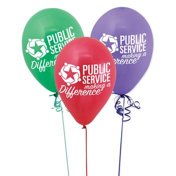 Public Service Making A Difference Latex Balloons