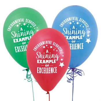 Environmental Services: A Shining Example Of Excellence Balloons