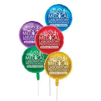 Medical Laboratory Professionals: Healthcare Detectives Foil Celebration Balloons-Assorted