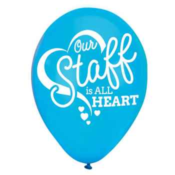 Our Staff Is All Heart Balloons