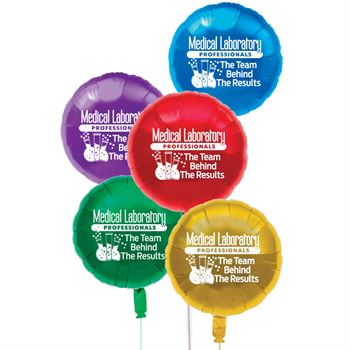 Med Lab Professionals The Team Behind The Results Mylar Balloons - Pack of 5