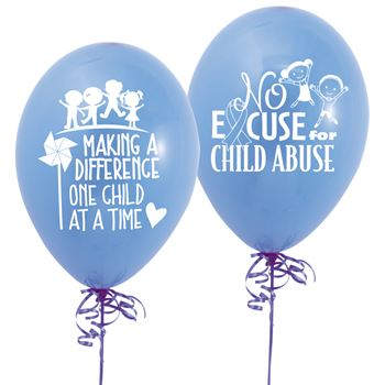 Making A Difference One Child At A Time Mylar Balloons - Pack of 50