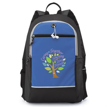 Caring Together Touching Lives Forever Bayside Backpack