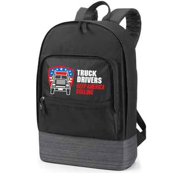 Truck Drivers Keep America Rolling Manchester Laptop Backpack