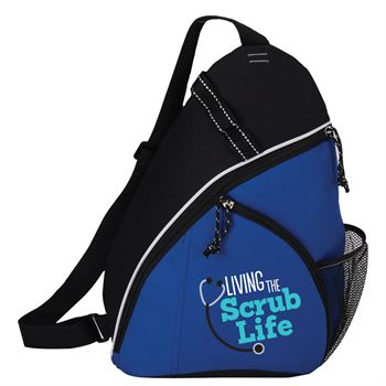 Living The Scrub Life Westfield Sling Backpack