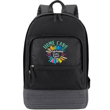 Home Care: Brightening Lives Every Day Manchester Laptop Backpack