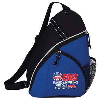 EMS Making A Difference One Call At A Time Westfield Sling Backpack