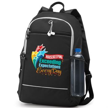 Housekeeping Exceeding Expectations Every Day Bayside Backpack