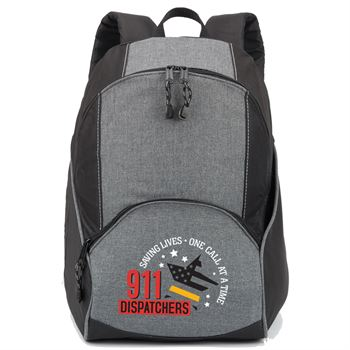 911 Dispatchers Saving Lives One Call At A Time Aspen Backpack