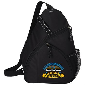 Telecommunicators: Behind The Scenes Making A Difference Westfield Sling Backpack