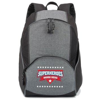 SuperHeroes Work Here Aspen Backpack